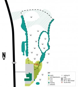 Waterford Wetlands Map